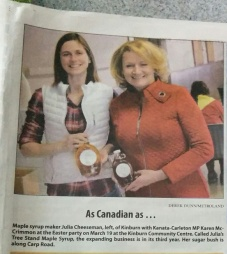Karen McCrimmon and I